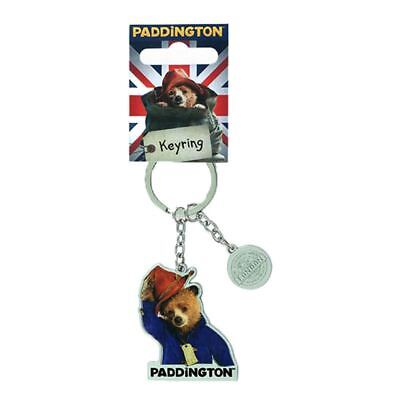 Officially Licensed Paddington Bear Detailed Movie Character Metal Keyring