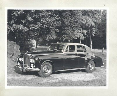 1962 ? Bentley S3 Saloon ORIGINAL Factory Photograph wy2721