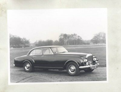 1963 ? Bentley S3 Continental Flying Spur ORIGINAL Factory Photograph wy2723