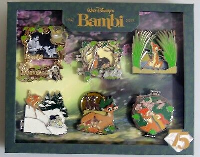 ESL5014. Disney D23 Expo 2017 Limited Edition BAMBI 75th Anniversary 6 Pin Set