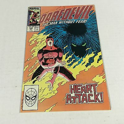 DAREDEVIL #254 Marvel Copper Age Key 1st TYPHOID MARY Appearance F/VF #A1