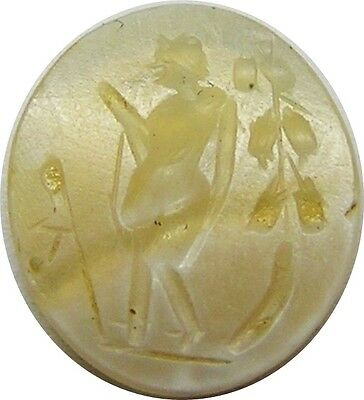 Nice Ancient Roman Agate Intaglio of Bacchus / Dionysus c. 1st - 2nd century A.D