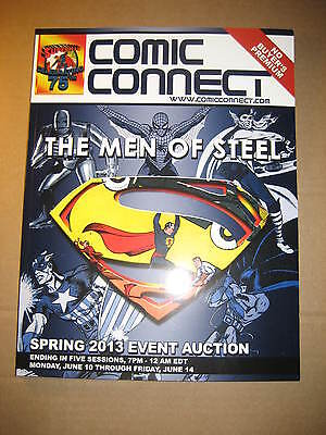 2013 Comic Connect Event Auction Catalog......Men of Steel