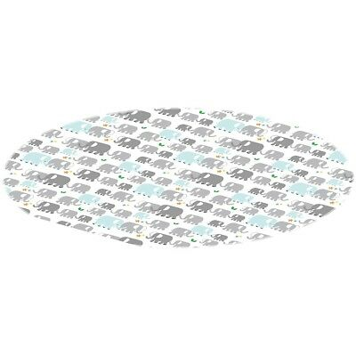 Kushies Cleanmat Splash Mat - Elephants