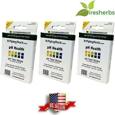 Ph Test Strips For Saliva And Urine Tests Acid-Alkaline Balance Quick 300 Count