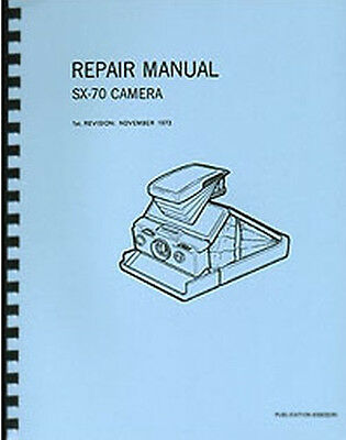 Polaroid SX-70 Camera Service & Repair Manual