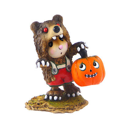 LITTLE MOUSE IN SCARY BEAR! by Wee Forest Folk, WFF# M-490