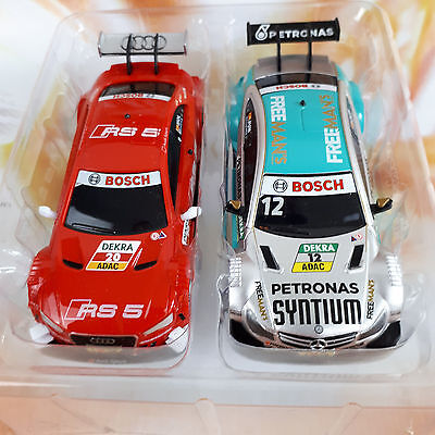 Carrera Go DTM Auto Set AUDI RS A5 vs AMG MERCEDES Slotcar