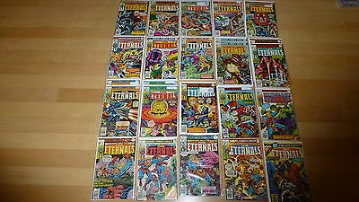 The Eternals 1-19 + Annual 1 Complete Set (1976, Marvel Comics) Lot Jack Kirby