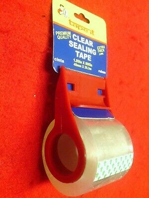 "NEW TAPE ITCLEAR Sealing Packing Tape With Dispenser Cutter 1.89"" X 800"""