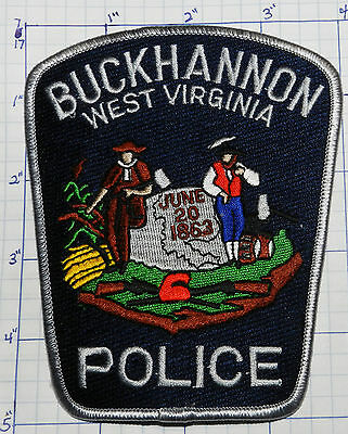 West Virginia, Buckhannon Police Dept Patch
