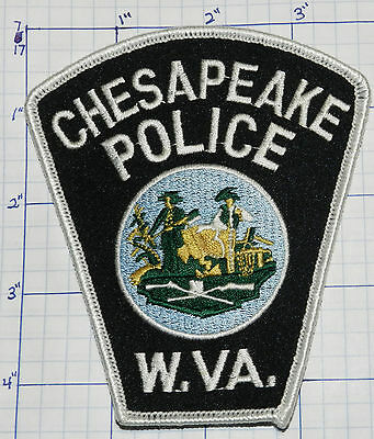 West Virginia, Chesapeake Police Dept Patch