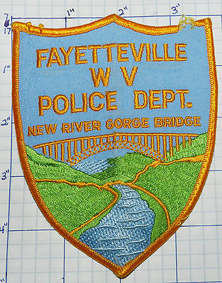 West Virginia, Fayettesville Police Dept Patch