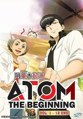 ATOM: THE BEGINNING | Episodes 01-12 | English Subs | 1 DVD (VS0223)