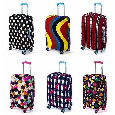 """18-28"""" Elastic Luggage Suitcase Cover Protective Bag Dustproof Case Protector"""