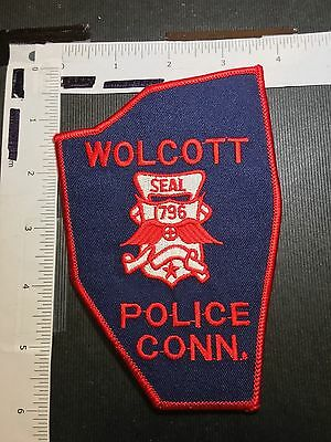 Wolcott Connecticut Police  Shoulder Patch