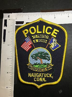 Naugatuck  Connecticut Police  Shoulder Patch