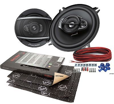 Mercedes e-KL w208 96-02 Ground Zero altavoces boxeo 130mm coaxial Heck