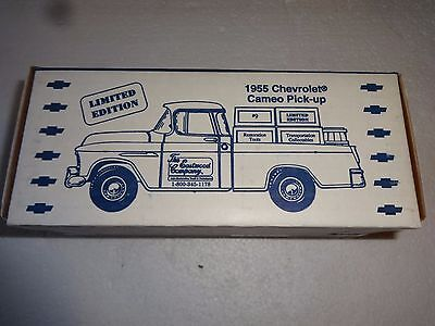 Eastwood 1955 Chevrolet Cameo Pick Up  Locking Coin Bank # 9747