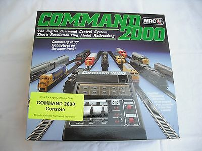MRC AD090 Command 2000 Console, DCC Digital Control System, Train N HO Scale
