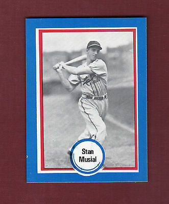 #112 STAN MUSIAL,Cardinals~Shakeys Pizza Hall of Fame/Baseball All-Time Greats A