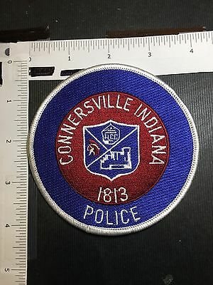 Connersville  Indiana Police  Shoulder  Patch