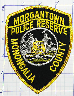 West Virginia, Morgantown Police Reserve Patch