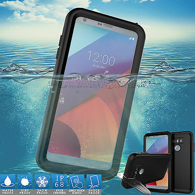Slim Waterproof Shockproof Dirt Proof Heavy Duty Swimming Case Cover For LG G6