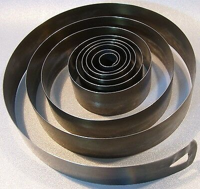 CLOCK PARTS --- LARGE MAIN SPRING --- 23.8mm x 0.42mm ---