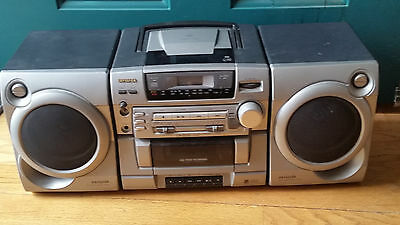 Panasonic Sa Pm31 Mp3 W 5 Disc Cd Player Micro Shelf
