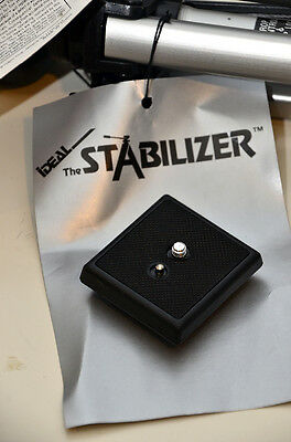 Quick Release Plate for Ideal XT-650 & XT-1000 Stabilizer Tripod