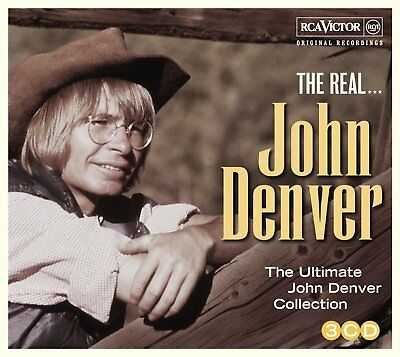John Denver The Real Ultimate Collection 3 Cd Boxcountry 2013 New
