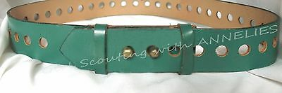 RARE 1973-80 Senior Girl Scout HOLEY BELT for Tunic Hippie EUC Combine Ship