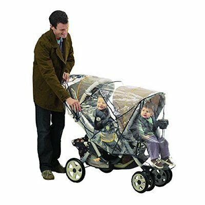 NEW Nuby Deluxe Tandem Stroller Weather Shield