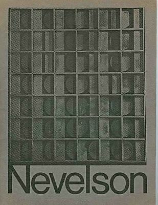 Louise Nevelson : Exhibition Catalogue, Houston Museum of Fine Aarts, 1969