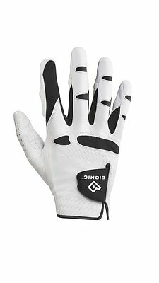 NEW! 1 Bionic StableGrip Golf Gloves Men's Right Hand Color White Medium GGNMRM