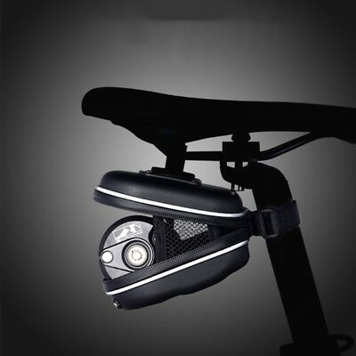 Waterproof Bike Saddle Bag Bicycle Seat Post Tail Storage Pouch Cycling Panniers