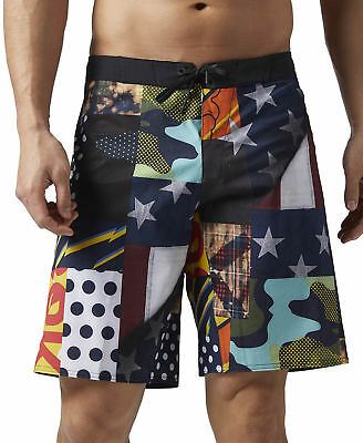 Reebok Super Nasty Board Mens Crossfit Shorts