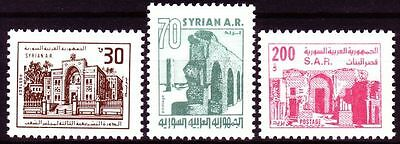 Syrien Syria 1983 ** Mi.1553/55 Freimarken Definitives Bauwerke Buildings