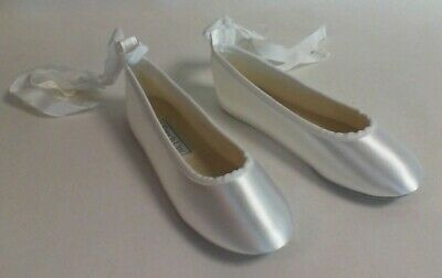 Touch Ups Flower Girl/Bridesmaid Shoes - White - Gypsy - US 3M UK 2 #17L600