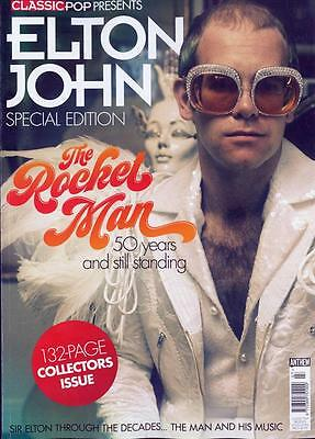 CLASSIC POP Present magazine 2017 - Elton John - 132 Page Collectors Issue