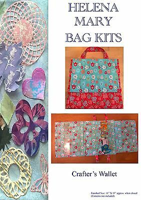 Helena Mary Craft, Sewing, Bag Kit Complete Kit - Crafter's Wallet