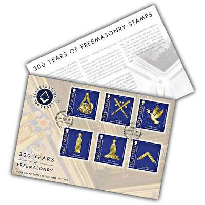 300 Years of Freemasons First Day Cover