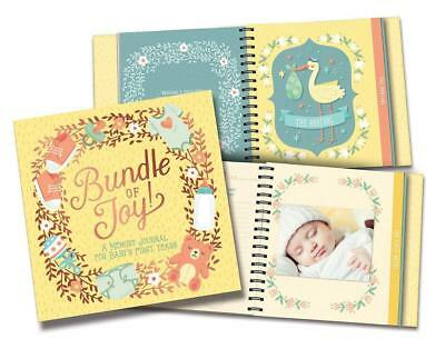 Bump for Joy Baby's First Years Keepsake Journal Record Book 86410
