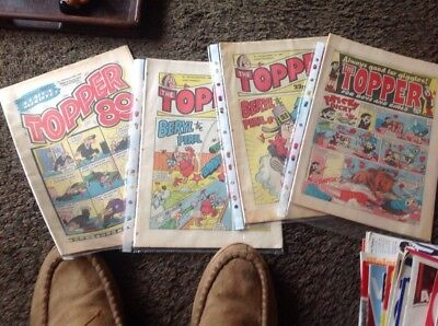 Comic Topper  Numbers 1761 1762 1908  1710