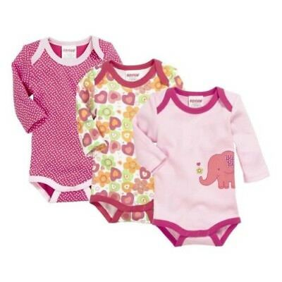 SCHNIZLER Body Suit 1/1-arm Pack of 3 Elephant Size Selection