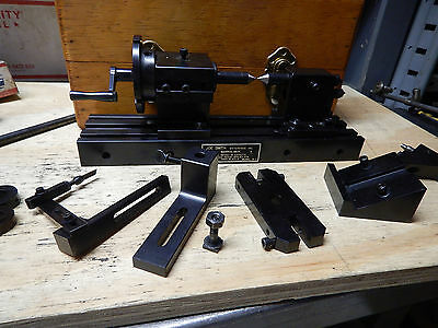 Joe Smith Enterpirses Model A-1 Surface Tool Grinder Turning Center W/ Case