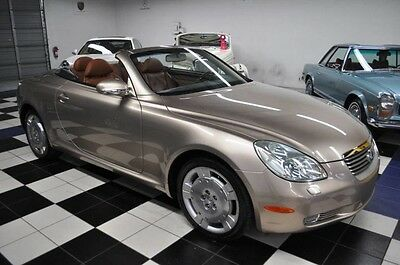 2002 Lexus SC LOW MILES - PRISTINE CONDITION - MARK LEVINSON 2002 Lexus SC430 AMAZING COLORS - CERTIFIED CARFAX - FLORIDA CAR
