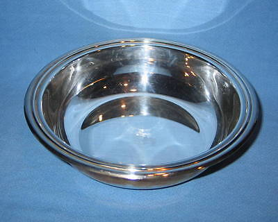 "Christofle France Hallmarked Silver Plated 10"" Bowl - FREE SHIPPING"