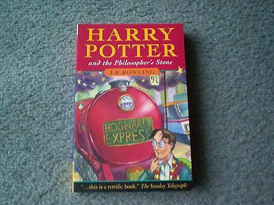 HARRY POTTER and the Philosopher's Stone~Text Joanne Rowling~PB 1997